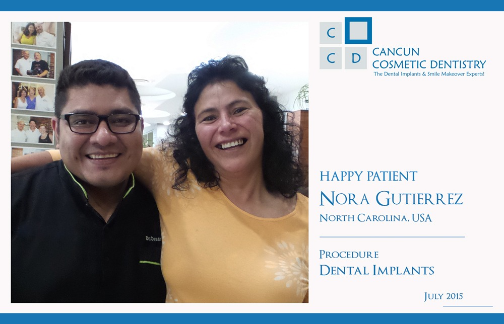 Happy Patient Review Cancun Cosmetic Dentistry