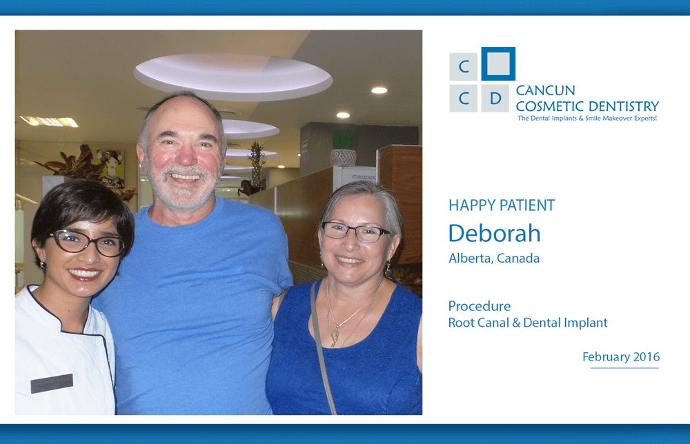 Low Cost Dental Implant and Root Canal in Cancun Cosmetic Dentistry