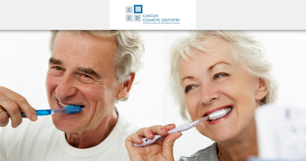 Common dental problems in the elderly - Cancun Cosmetic Dentistry