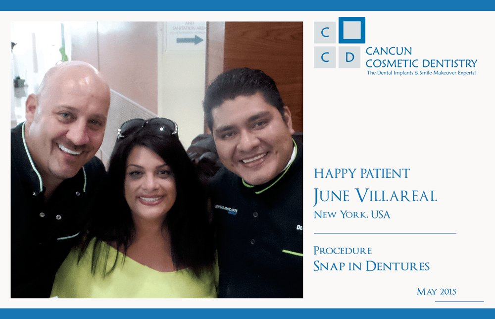 June Penny Youtube Star at Cancun Cosmetic Dentistry