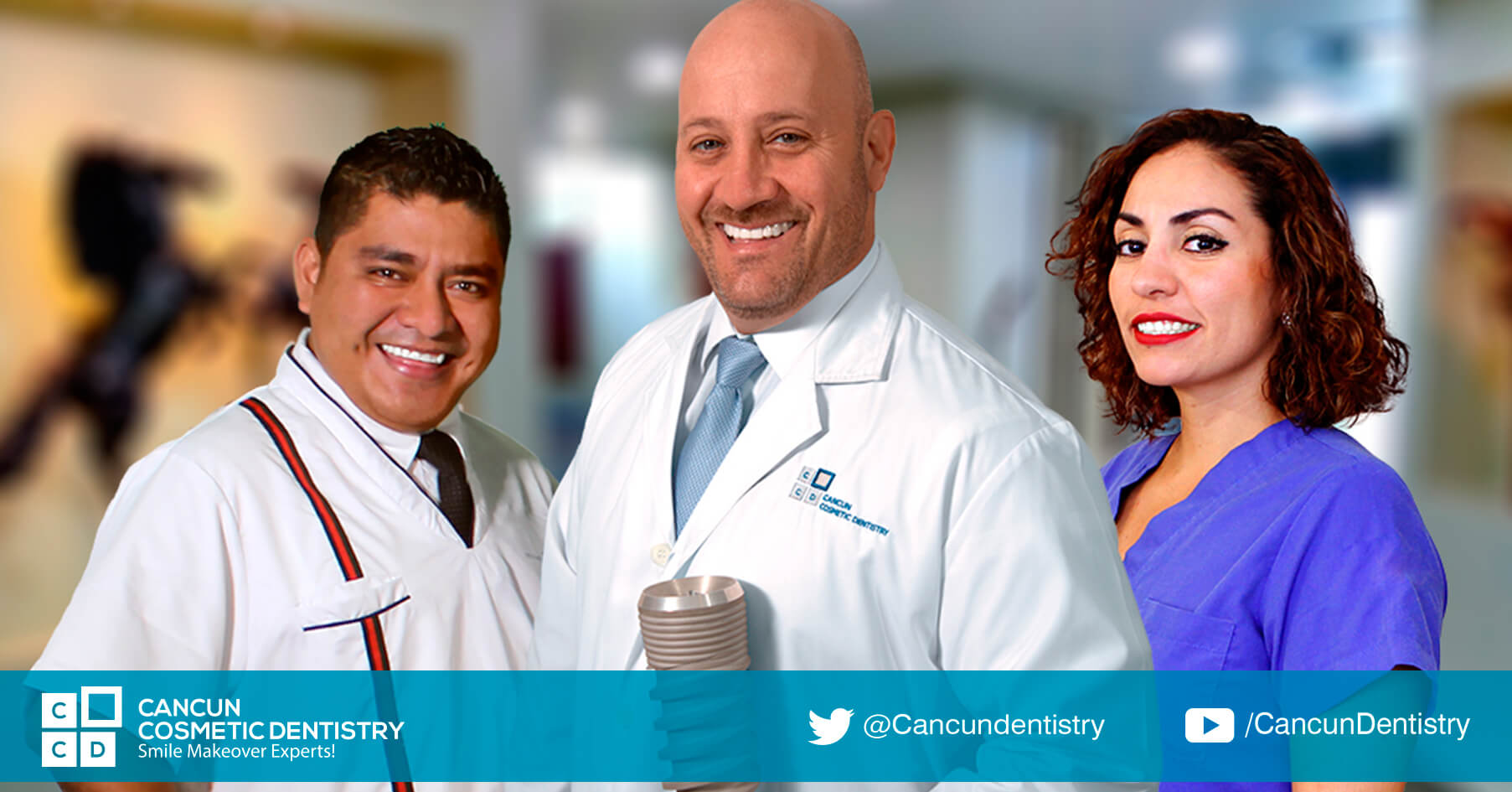 What can you expect on your dental implant treatment in Cancun?